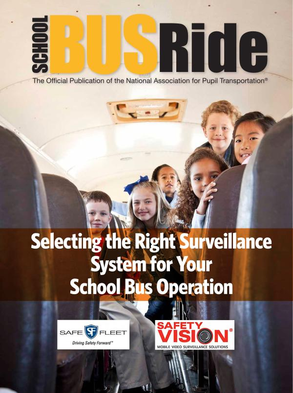 Selecting the Right Surveillance System for Your School Bus Operation