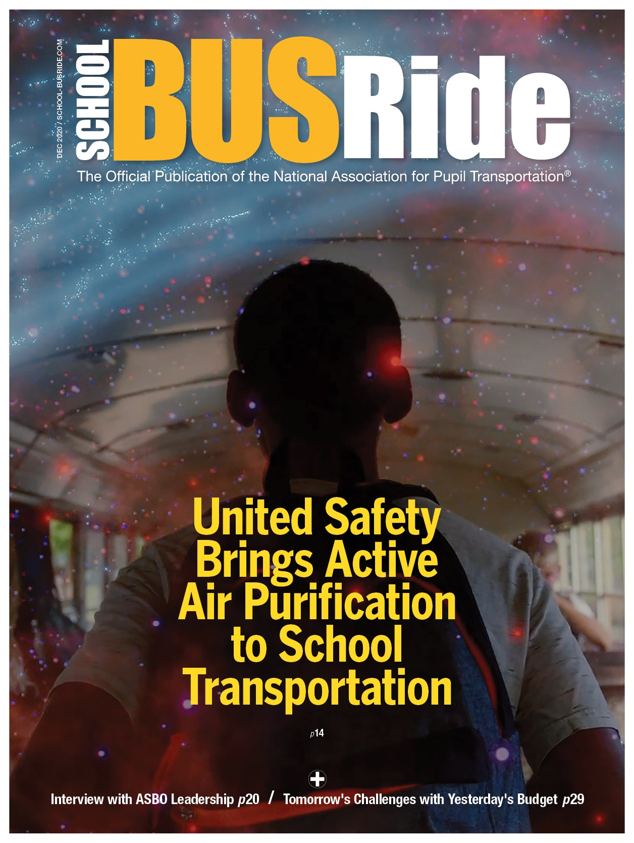United Safety Brings Active Air Purification to School Transportation
