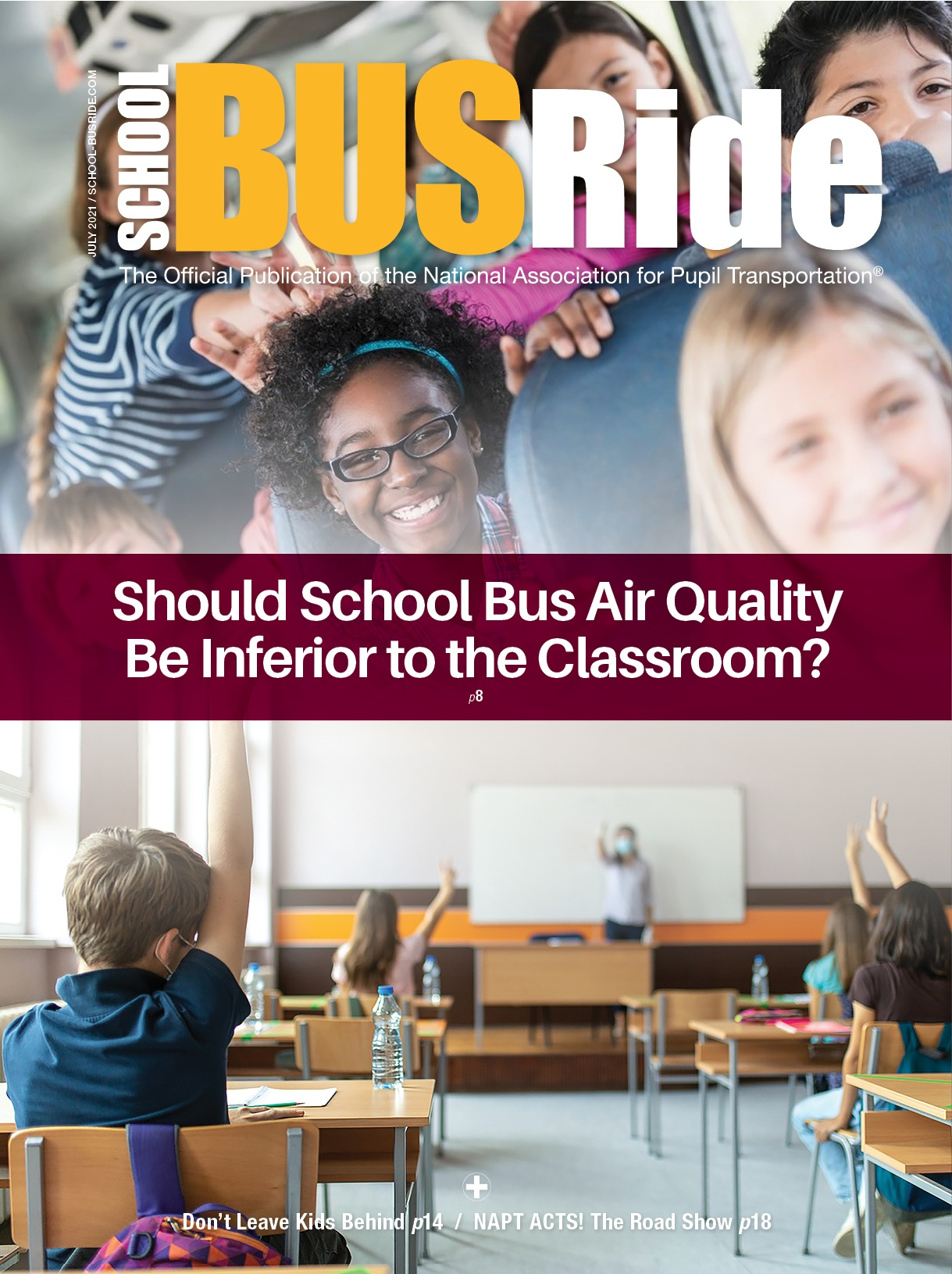 Should Air Quality on the Bus be Inferior to the Classroom?